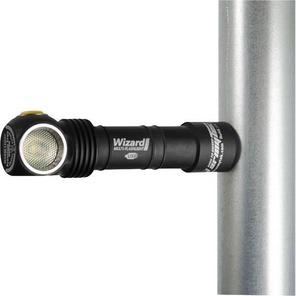 Lampade da testa - ArmyTek Wizard Pro v3, 4000k LED Lampada frontale a batteria ricaricabile 1800 lm F05501SC -