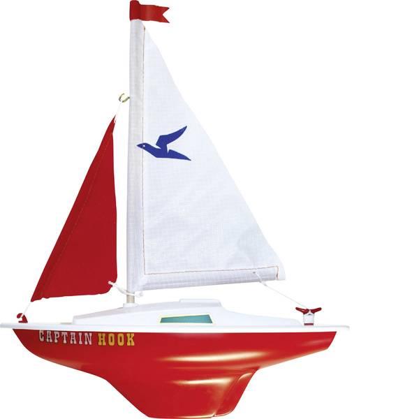Barche telecomandate - Günther Flugspiele Capitan uncino Barca a vela modello RtF 240 mm -