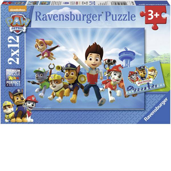 Puzzle - Ravensburger Puzzle - Ryder e la Paw Patrol -