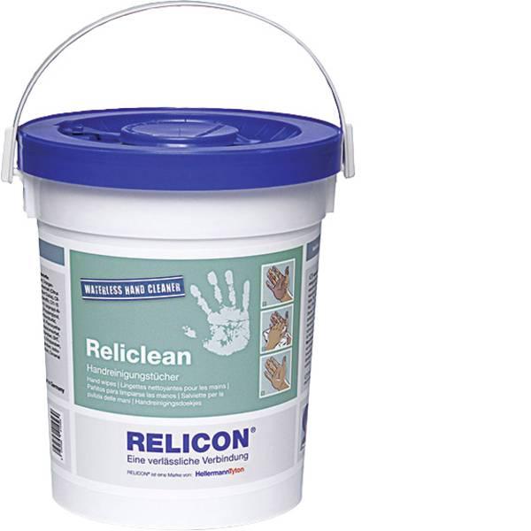 Sapone - Salviette per la pulizia delle mani Relicon by HellermannTyton Reliclean WH 70 435-01601 70 pz. -