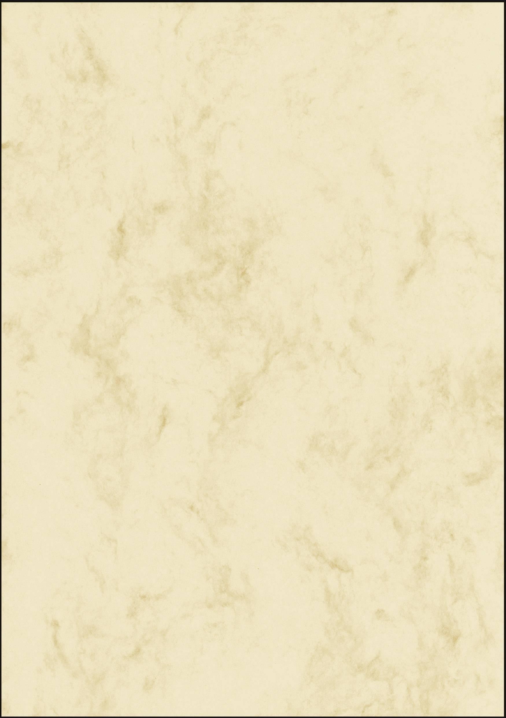 DIN A4 50 fogli di carta marmorizzata su entrambi i lati di alta qualit/à beige 200g//m/²
