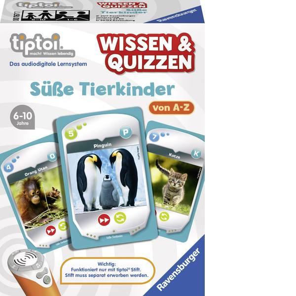 Giochi di società e per famiglie - Ravensburger tiptoi® e Quizzen: dolci bambini animali -