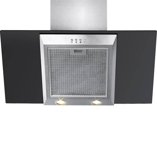 Cappe aspiranti - Bomann DU657G Cappa a parete 900 mm Classe energetica: C (A+ - F) 71 dB Nero/acciaio inox -