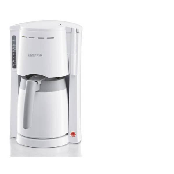 Macchine dal caffè con filtro - Severin KA 4114 Macchina per il caffè Bianco-Grigio Capacità tazze=8 -