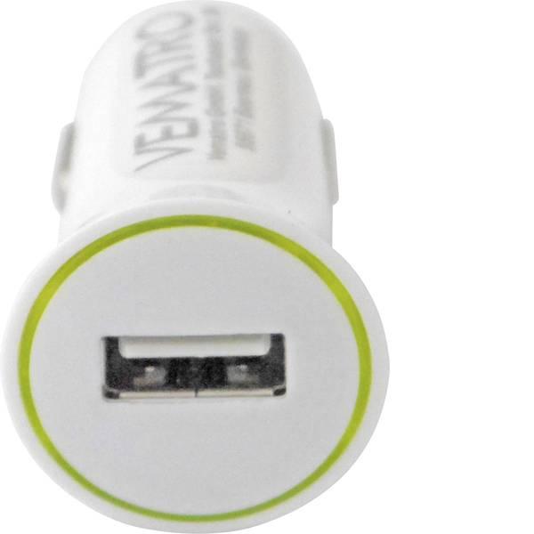 Accessori per presa accendisigari - Vematro Adattatore di ricarica USB per laccendisigari Portata massima corrente=1.2 A -