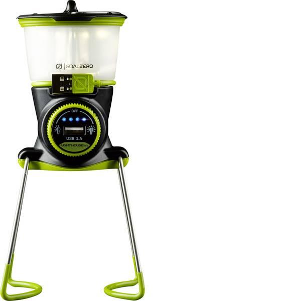 Lampade per campeggio, outdoor e per immersioni - LED Lanterna da campeggio Goal Zero Lighthouse Mini 5W 210 lm a batteria ricaricabile 227 g Nero Giallo 32003 -