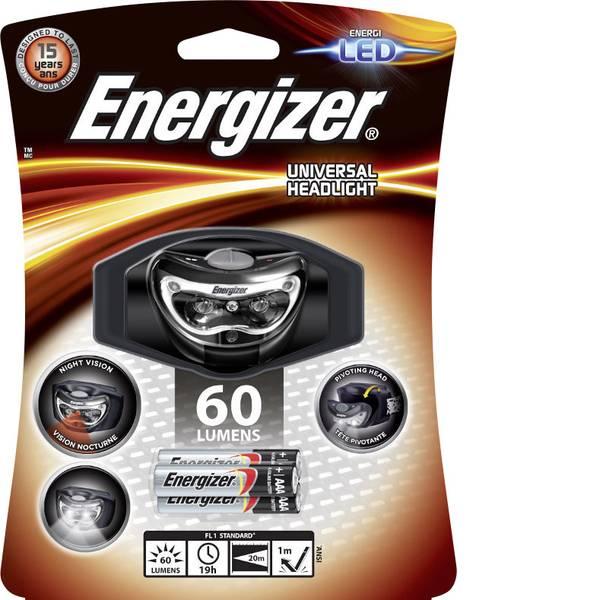 Lampade da testa - Energizer Headlight 3 LED LED Lampada frontale a batteria 60 lm 19 h E300640700 -