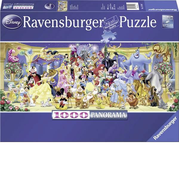 Puzzle - Ravensburger Puzzle - foto di gruppo Disney -