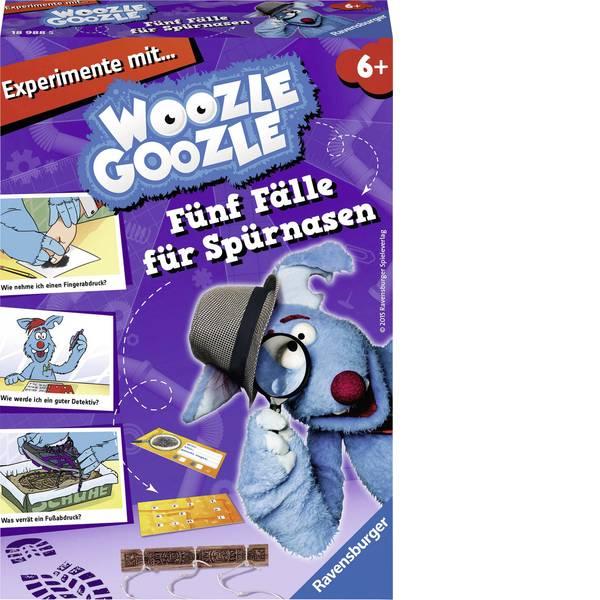 Giochi per bambini - Ravensburger Woozle Goozle - cinque caso per peli del naso -