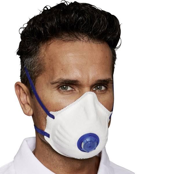 Maschere per polveri fini - Mascherina antipolvere con valvola FFP2 D EKASTU Sekur Mandil 414 214 12 pz. -