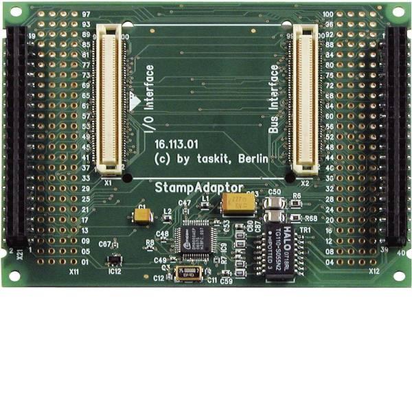 Moduli e schede Breakout per schede di sviluppo - Taskit Scheda di sviluppo Stamp-Adaptor for Stamp 9261-Module 542483 Stamp9261 Series -