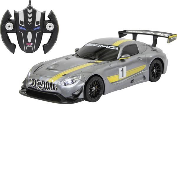 Auto telecomandate - Jamara 410028 Mercedes AMG GT3 grau 1:14 Automodello per principianti Elettrica Auto stradale -