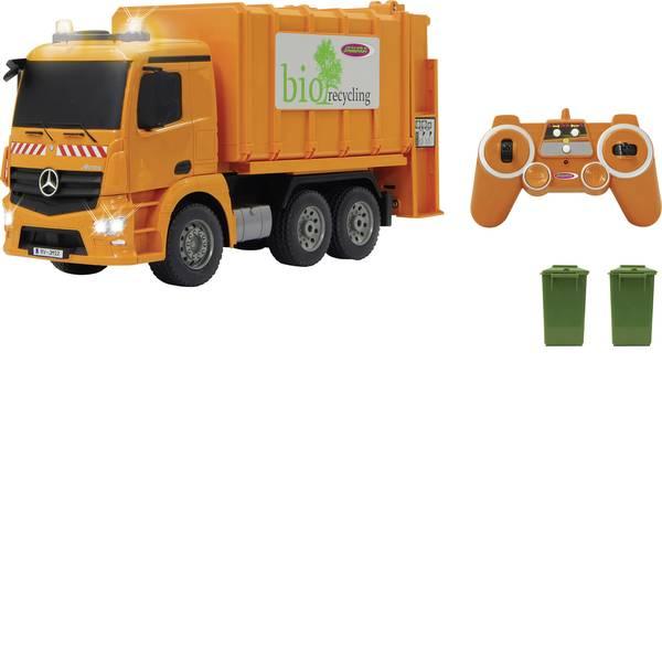 Trattori e mezzi da cantiere RC - Camion dei rifiuti Mercedes Antos Modellino per principianti Jamara 1:20 Camion -