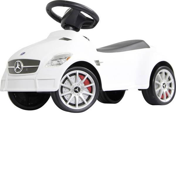 Auto a spinta - Macchina a spinta per bambini Jamara Mercedes Benz Rutscher Mercedes SLK55 AMG Bianco -