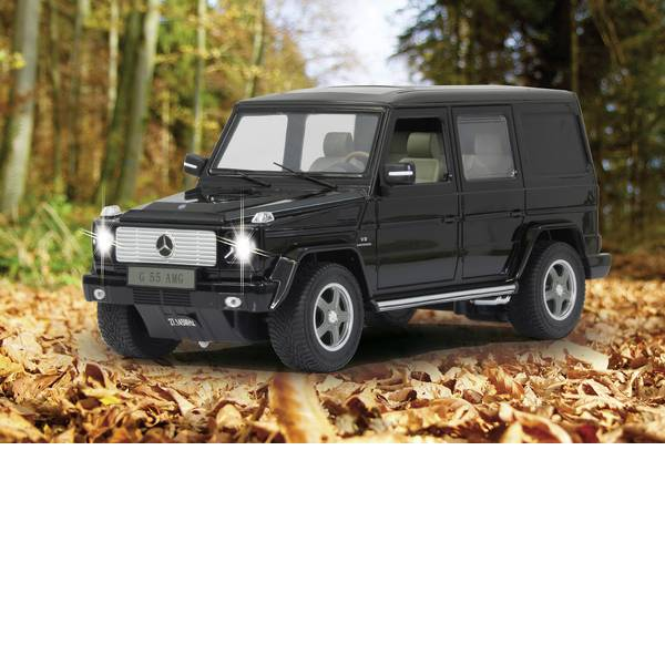 Auto telecomandate - Jamara 403910 Mercedes G55 AMG 1:14 Automodello per principianti Elettrica Auto stradale -