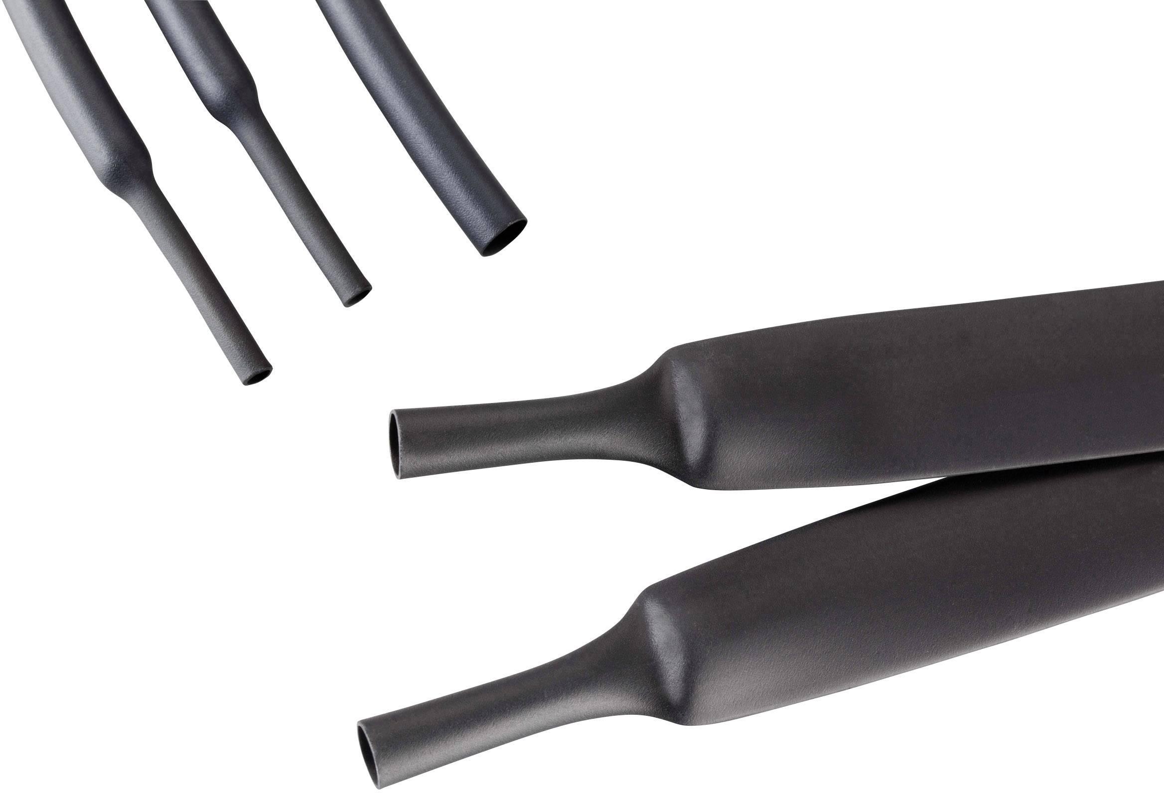 Guaina Termorestringente con Colla diametro 16mm 4:1 Nera