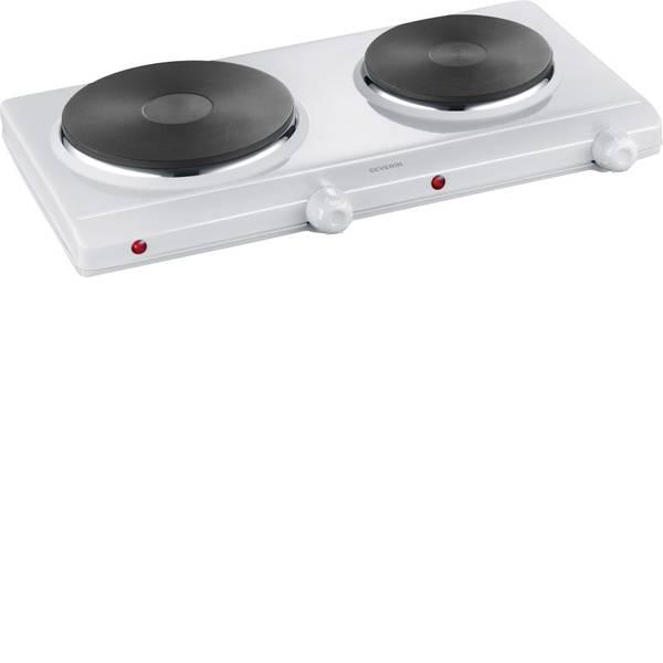 Piastre di cottura - Severin DK 1042 1042-000 Doppia piastra di cottura 2 regolatori di temperatura indipendenti -
