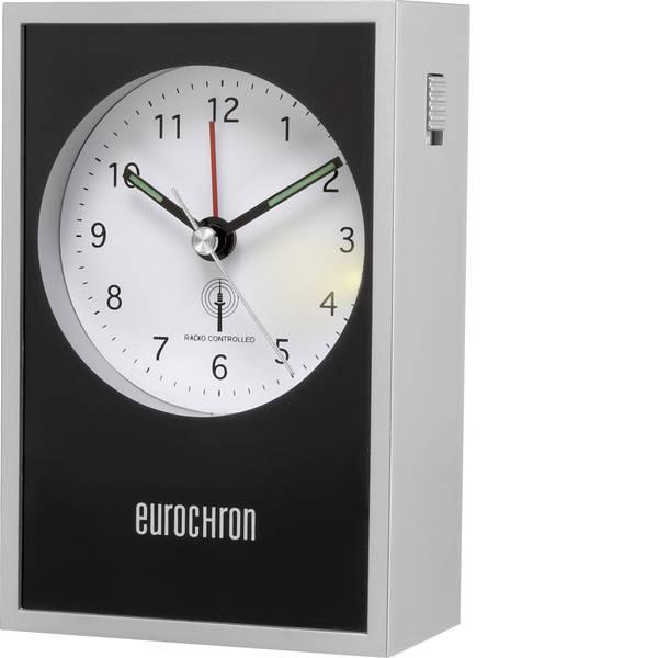 Sveglie - Eurochron EFW 7000 Radiocontrollato Sveglia Argento, Nero -