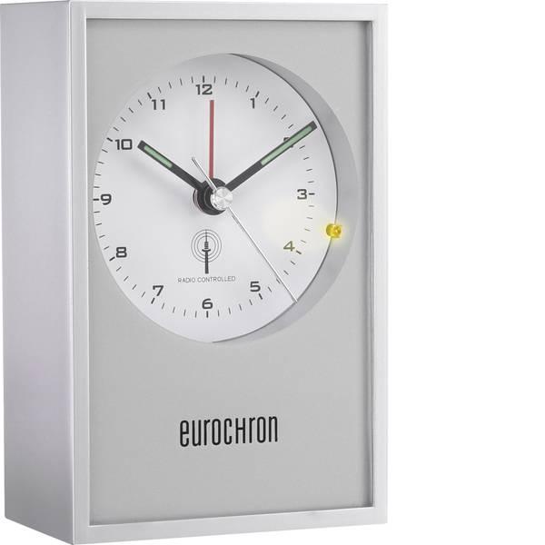 Sveglie - Eurochron EFW 7001 Radiocontrollato Sveglia Argento -