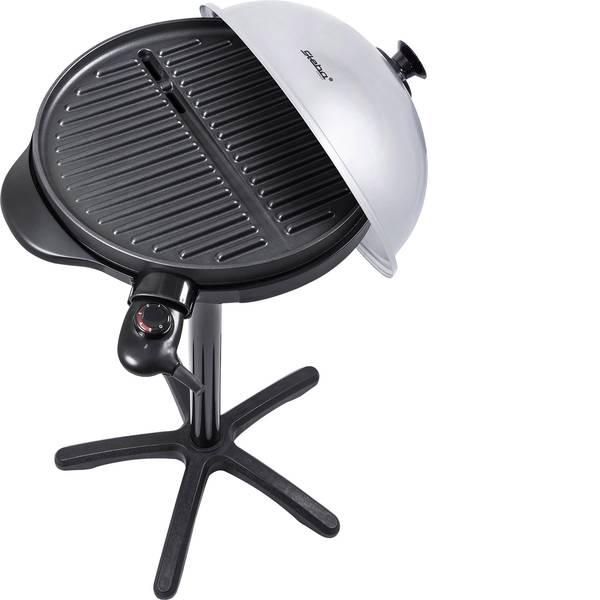 Grill - Steba Germany VG 250 Verticale Grill elettrico Zona barbecue (diametro)=400 mm Nero, Argento -