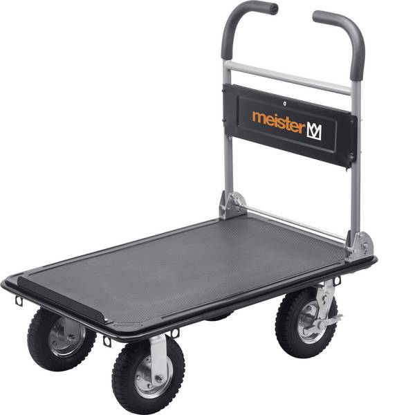 Carrelli con pianale - Carrello con pianale pieghevole Acciaio Capacità di carico (max.): 300 kg Meister Werkzeuge 8985700 -