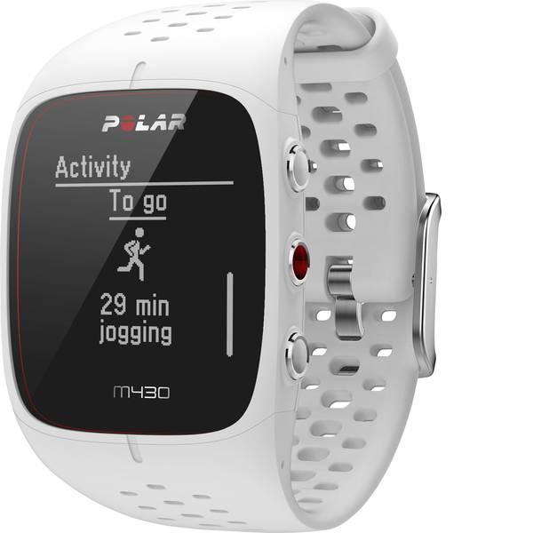 Dispositivi indossabili - Polar M430 WHITE Gr. S Fitness Tracker S Bianco -
