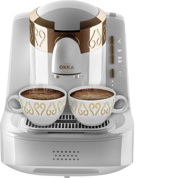 Macchine dal caffè con filtro - arzum Okka Caffettiera elettrica Bianco, Rame -