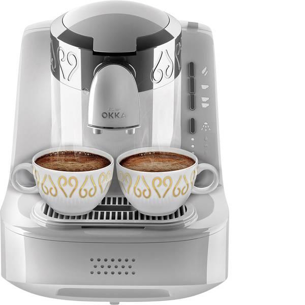 Macchine dal caffè con filtro - arzum Okka Caffettiera elettrica Bianco, Argento -