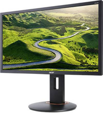 Acer XF240H Monitor LED 61 cm (24 pollici) Classe energetica B 1920 x 1080 Pixel HD 1080 p 1.00 ms DVI, HDMI ™, DisplayP