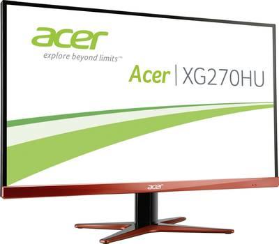 Acer XG270HUA Monitor LED 68.6 cm (27 pollici) Classe energetica B 2560 x 1440 Pixel WQHD 1.00 ms DVI, HDMI ™, DisplayPo