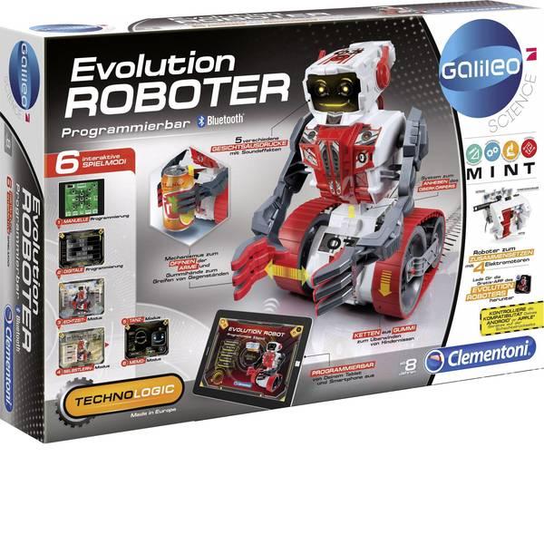 Robot in kit di montaggio - Clementoni Robot in kit da montare Galileo Evolution Roboter Modello (kit/modulo): KIT da costruire, Robot giocattolo -