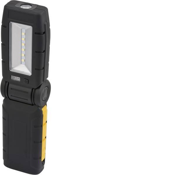 Torce tascabili - Brennenstuhl HL DA61 LED Lampada da lavoro con supporto magnetico, Interfaccia USB, regolabile a batteria ricaricabile  -