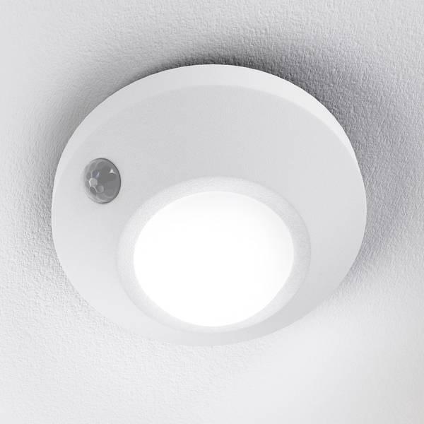 Luci notturne - LEDVANCE NIGHTLUX Ceiling 4058075026599 Luce notturna LED con sensore di movimento Rotondo LED Bianco neutro Bianco -
