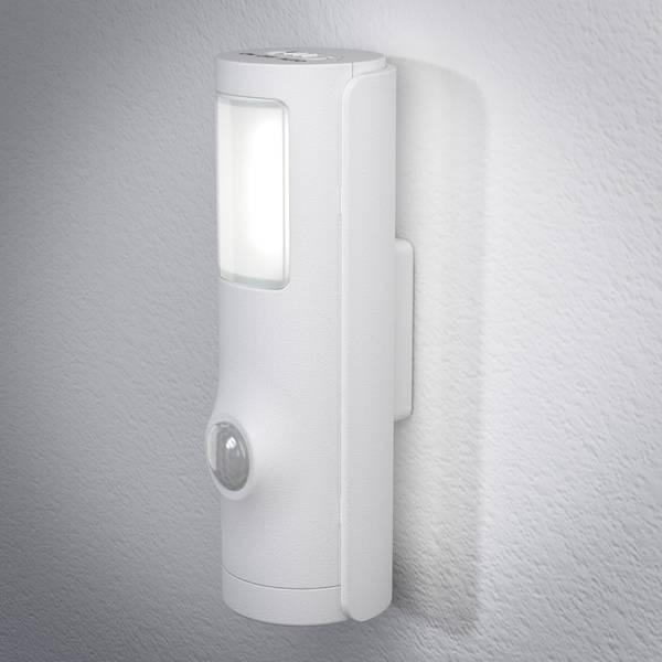Luci notturne - LEDVANCE NIGHTLUX Torch 4058075027244 Luce notturna LED con sensore di movimento Cilindrico LED Bianco neutro Bianco -