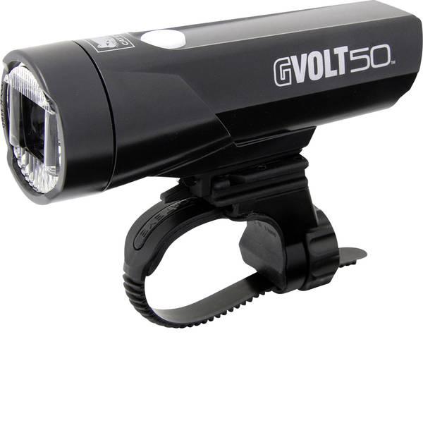 Luci per bicicletta - Cateye Fanale anteriore GVOLT50 HL-EL550G-RC LED (monocolore) a batteria ricaricabile Nero -