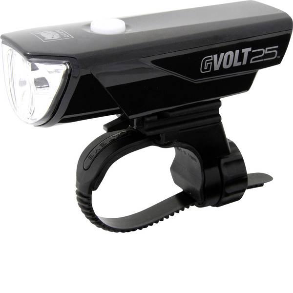 Luci per bicicletta - Cateye Fanale anteriore GVOLT25 HL-EL360G-RC LED (monocolore) a batteria ricaricabile Nero -