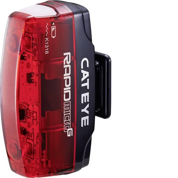 Luci per bicicletta - Cateye Fanale posteriore Rapid Micro G TL-LD 620G LED (monocolore) a batteria ricaricabile Rosso, Nero -
