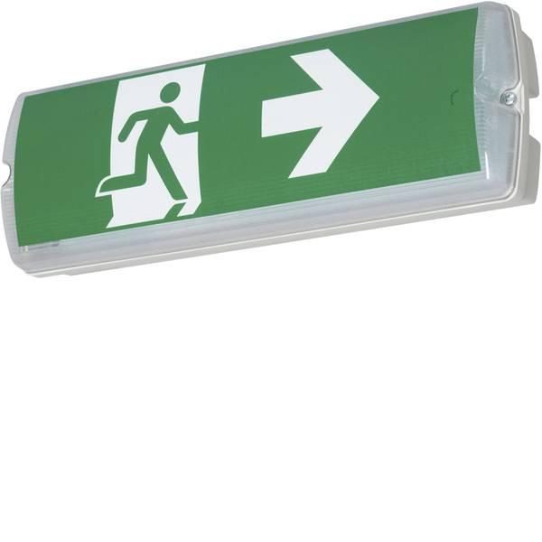 Segnaletica per uscite d`emergenza - B-SAFETY BR563130 Indicazione via di fuga illuminata Montaggio a parete, Montaggio a soffitto verso sinistra, verso  -