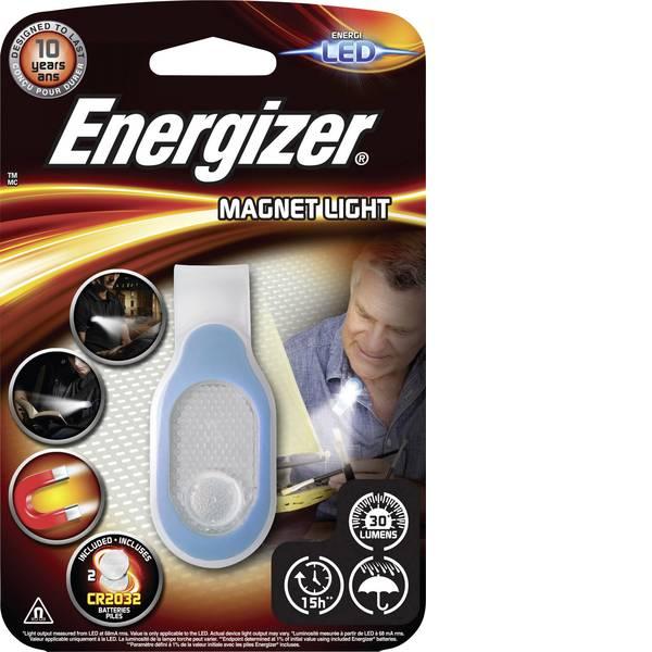 Torce tascabili - Energizer Magnet Light LED Mini torcia elettrica con supporto magnetico a batteria 30 lm 80 -