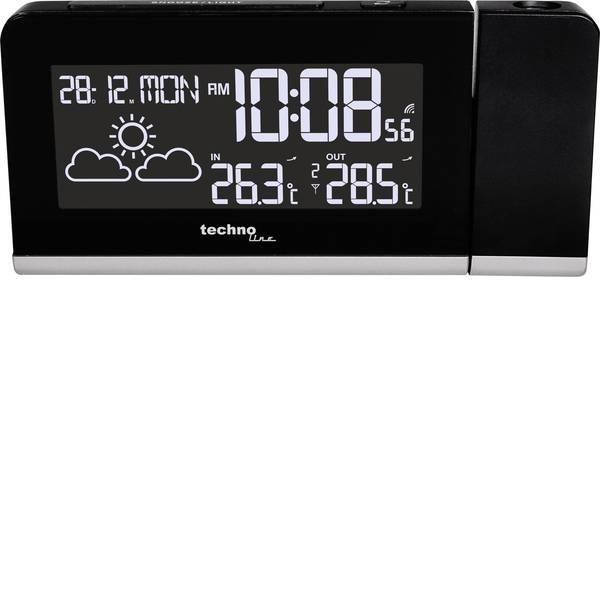 Orologi a proiezione - Techno Line WT 539 Radiocontrollato Sveglia digitale Nero -