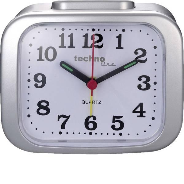 Sveglie - Techno Line Model XL silber Quarzo Sveglia Argento Tempi di allarme 1 -