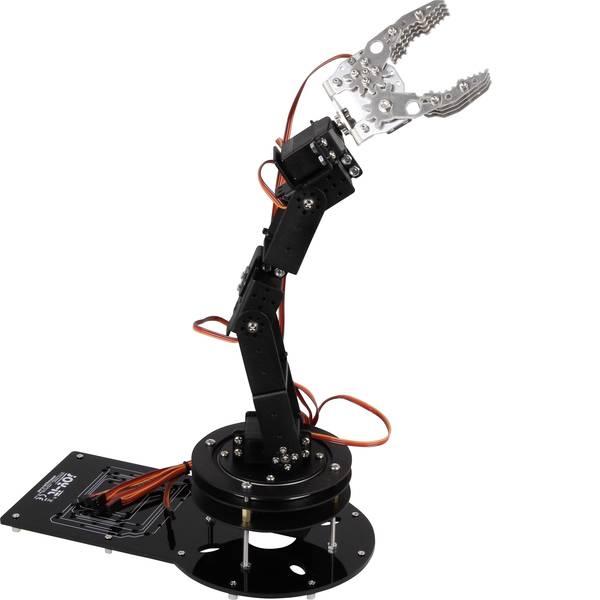 Robot in kit di montaggio - Joy-it Braccio robotico in kit da montare Modello (kit/modulo): KIT da costruire -