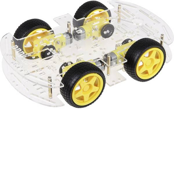 Robot in kit di montaggio - Joy-it Robot supporto mobile Arduino-Robot Car Kit 01 -