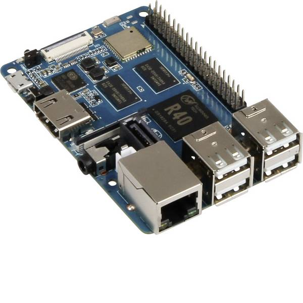 Schede di sviluppo e Single Board Computer - Banana Pi BPI-M2 Berry BPI-M2 Berry 1 GB 4 x 1.20 GHz Banana PI -