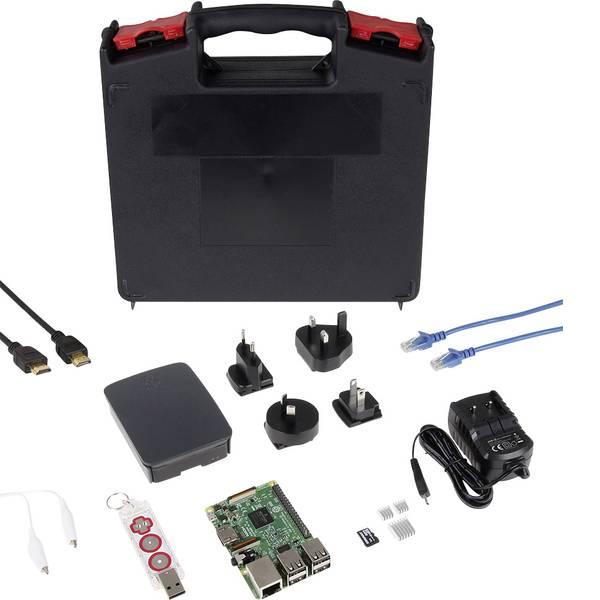 Schede di sviluppo e Single Board Computer - Raspberry Pi® 3 B Makey Education Set 1 GB 4 x 1.2 GHz incl. Makey Go, incl. custodia, incl. dissipatore, incl. Noobs  -