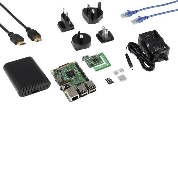 Schede di sviluppo e Single Board Computer - Raspberry Pi® 3 B Home Automation Z-Wave2 Set 1 GB 4 x 1.2 GHz incl. modulo Z-Wave2, incl. dissipatore, incl. cavo di  -