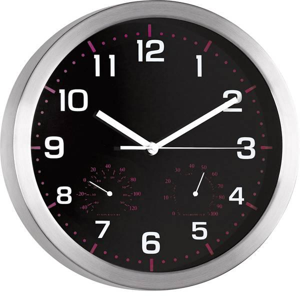 Orologi da parete - Mebus 41882 Quarzo Orologio da parete 30 cm x 4.2 cm Alluminio -