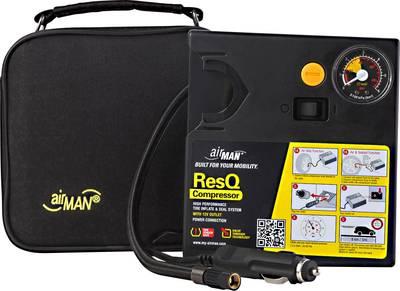 Compressore 2.5 bar Airman 51-051-011 Custodia di conservazione, Manometro analogico, 1 cilindro, vano alloggiamento cav