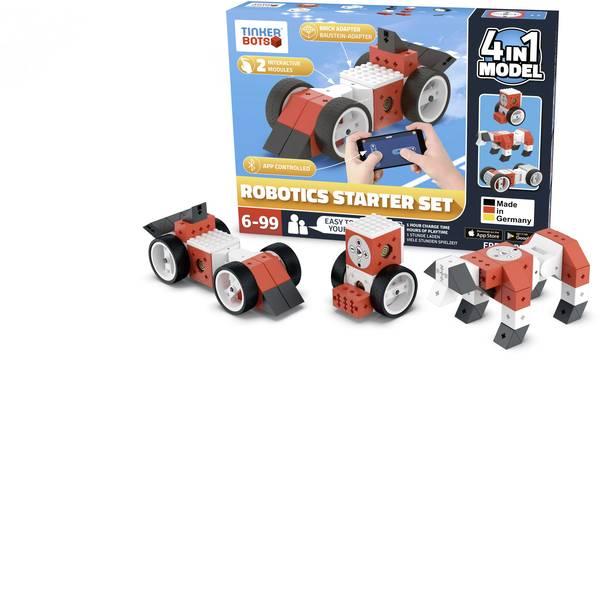 Robot in kit di montaggio - TINKERBOTS Robot in kit da montare Robotics Starter Set -