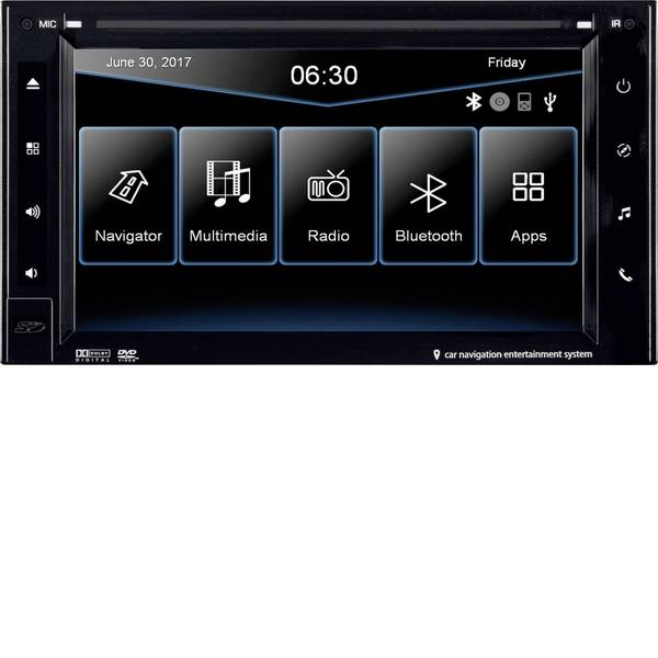 Navigatori da incasso - ESX VN630W Navigatore satellitare fisso da incasso Europa Vivavoce Bluetooth®, Sistema di navigazione integrato -